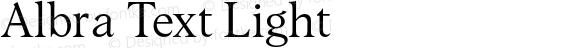 Albra Text Light