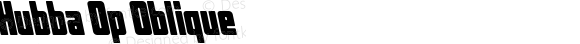 Hubba Op Oblique