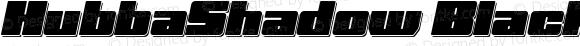 HubbaShadow Black Oblique