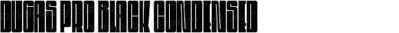 Dugas Pro Black Condensed
