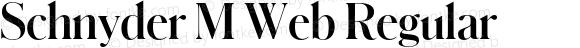 Schnyder M Web