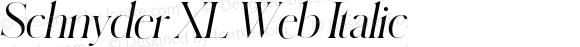 Schnyder XL Web