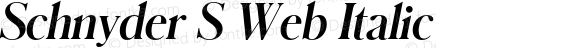 Schnyder S Web