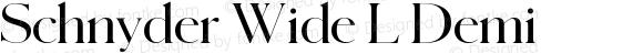 Schnyder Wide L