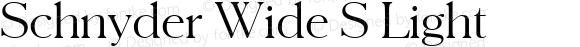 Schnyder Wide S
