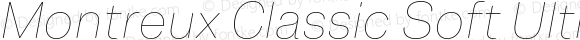 Montreux Classic Soft Ultra Thin Italic