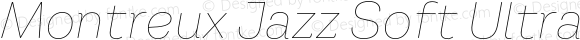 Montreux Jazz Soft Ultra Thin Italic