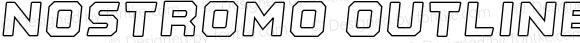 Nostromo Outline Heavy Oblique