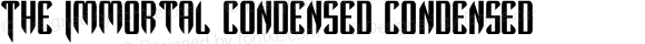 The Immortal Condensed Condensed