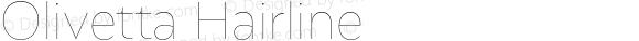 Olivetta Hairline