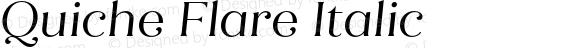 Quiche Flare Italic