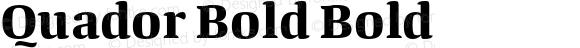 Quador Bold Bold
