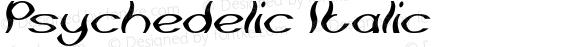 Psychedelic Italic