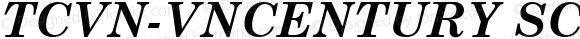 TCVN-VnCentury SchoolbookH Bold Italic