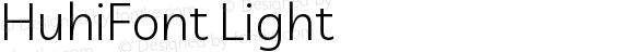 HuhiFont Light