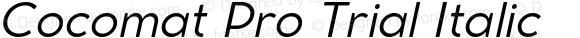 Cocomat Pro Trial Italic