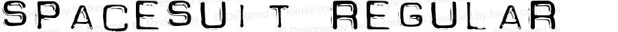 Spacesuit Regular Macromedia Fontographer 4.1 7/8/97