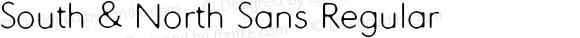 South & North Sans