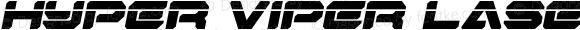 Hyper Viper Laser Semi-Italic Semi-Italic