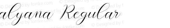 alyana Regular