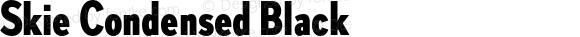 Skie Condensed Black