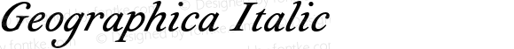 Geographica Italic