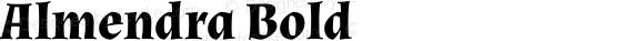Almendra Bold