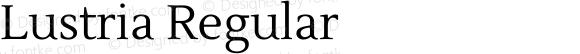 Lustria Regular