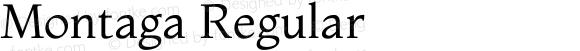 Montaga Regular