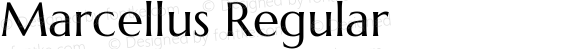 Marcellus Regular