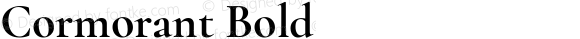 Cormorant Bold