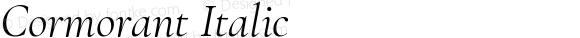 Cormorant Italic