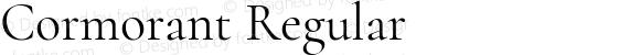 Cormorant Regular