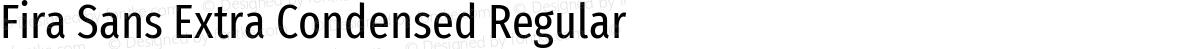 Fira Sans Extra Condensed Regular