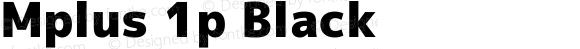 Mplus 1p Black