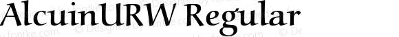 AlcuinURW Regular