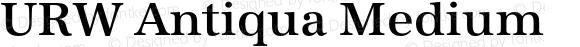 URW Antiqua Medium