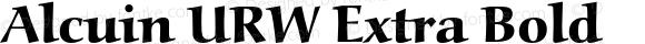 Alcuin URW Extra Bold