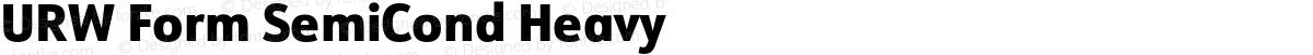 URW Form SemiCond Heavy