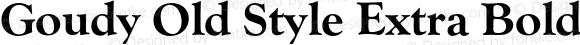 GoudyOldSty-ExtBol