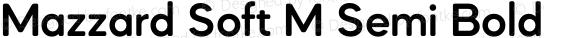 Mazzard Soft M Semi Bold