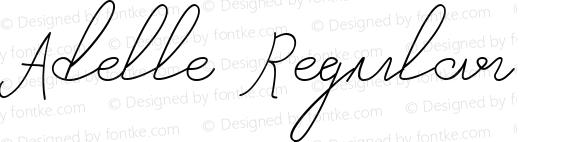 Adelle Regular