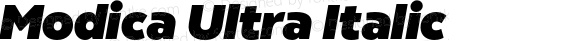 Modica Ultra Italic