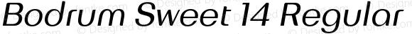 Bodrum Sweet 14 Regular Italic