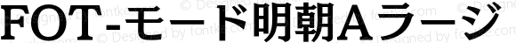 FOT-モード明朝Aラージ Pro