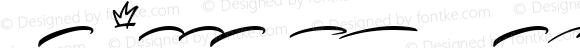 Qrayolla Script Swashes