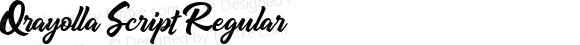 Qrayolla Script