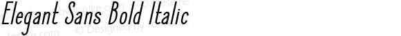 Elegant Sans