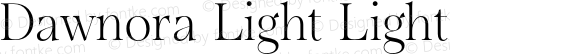 Dawnora Light Light