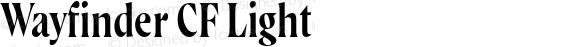 Wayfinder CF Light